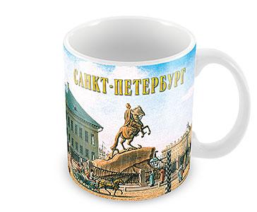 Старый СПб. Медный всадник