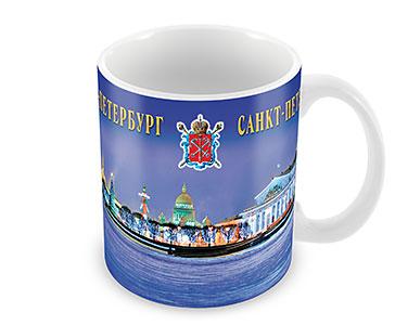 СПб. Вид на Стрелку Васильевского острова