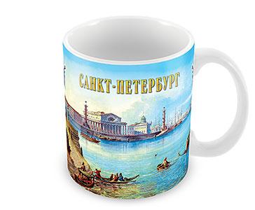 Старый СПб. Стрелка Васильевского острова