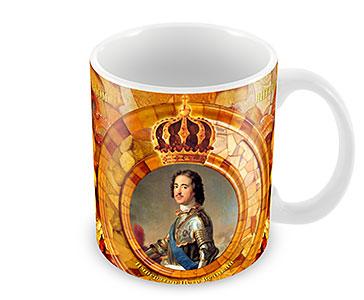 Император Петр I. Янтарная комната