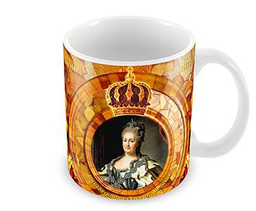 Императрица Екатерина II. Янтарная комната