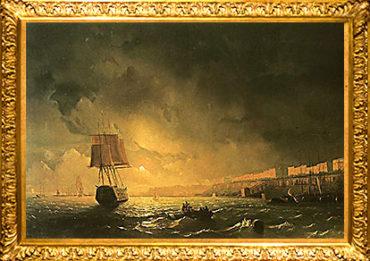 Айвазовский. Вид Одессы в лунную ночь