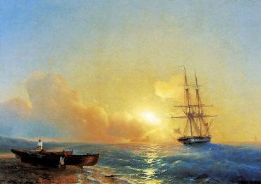 Айвазовский. Рыбаки на берегу моря