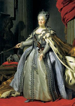 Императрица ЕкатеринаII (Рокотов)