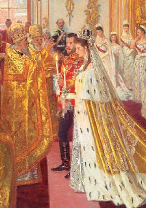 Бракосочетание НиколаяII и Александры Фед.