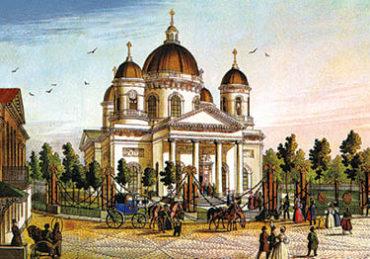 Старый СПб. Спасо-Преображенский собор