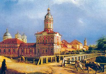 Старый СПб. Александро-Невская лавра