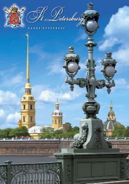 СПб. Петропавловская крепость с Троицкого моста