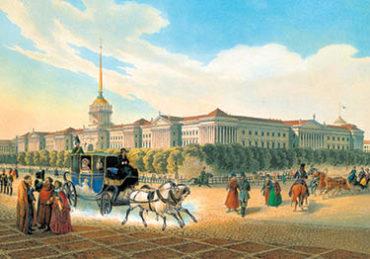 Старый СПб. Адмиралтейство