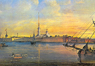 Старый СПб. Петропавловская крепость