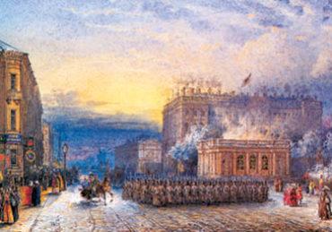 Старый СПб. Аничков дворец