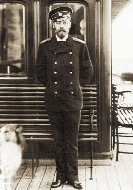 Николай II на яхте