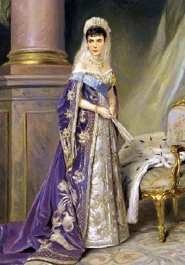 Императрица Мария Федоровна (Маковский)