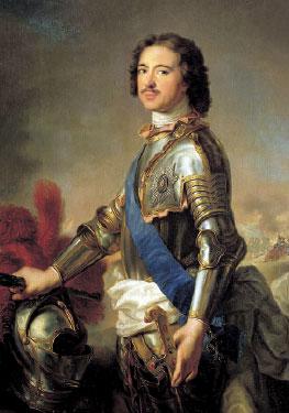 Император Петр I (Натье)