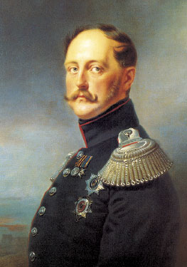 Император Николай I (Крюгер)