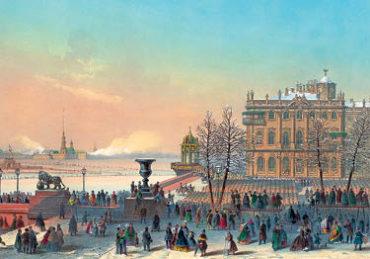 Старый СПб. Зимний дворец
