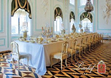 Петергоф. Большой дворец. Белая столовая