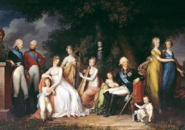 Семья императора ПавлаI (Кюгельхен)
