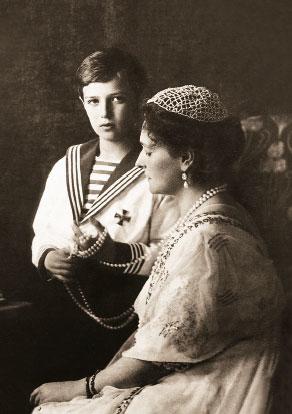 Александра Федоровна и Алексей