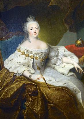 Императрица Елизавета Петровна (Гроот)