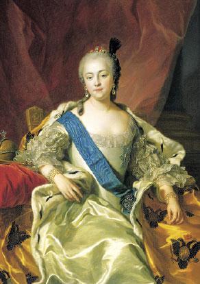 Императрица Елизавета Петровна (Ванлоо)