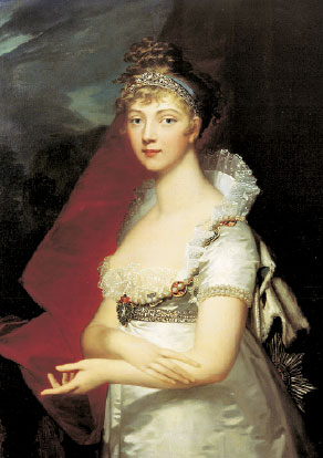 Императрица Елизавета Алексеевна (Монье)