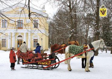 Зимний Санкт-Петербург. Катания на санях