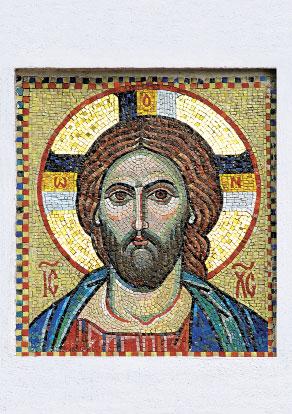 Валаам. Надвратная икона Христа