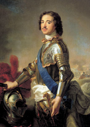 Император ПетрI (Натье)