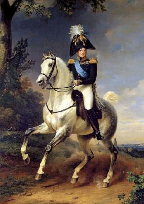 Император АлександрI (Крюгер)