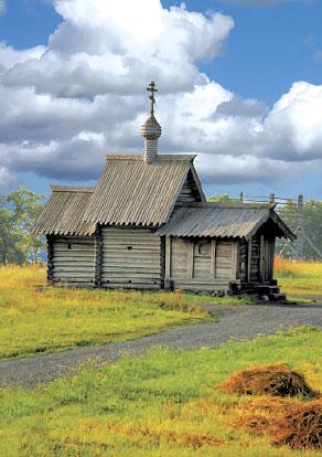 Кижи. Церковь Воскрешения Лазаря