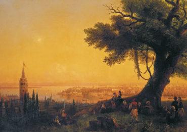 Айвазовский. Вид Константинополя