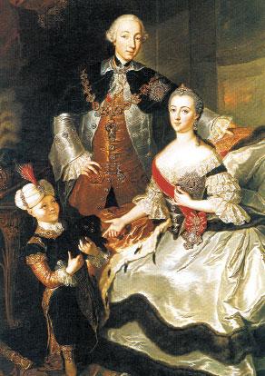 Петр III и Екатерина II (Гаск)