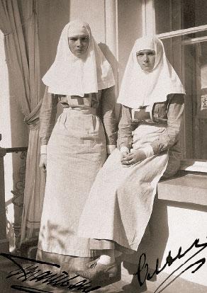 Ольга и Татьяна – сестры милосердия