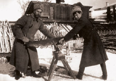 НиколайII и Алексей в Тобольске