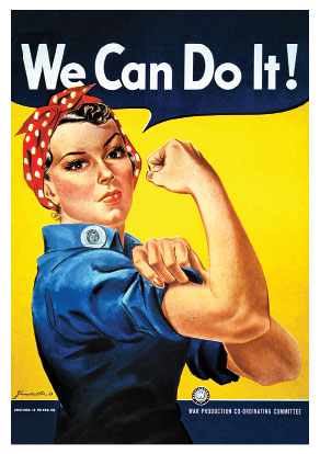 Плакат. We Can Do It!