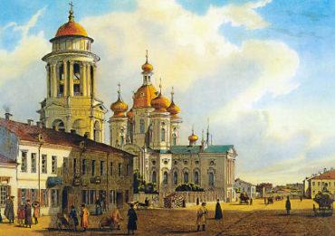 Старый СПб. Владимирская церковь